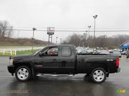 2007 Chevrolet Silverado 1500 LTZ Extended Cab 4x4 in Black photo ...