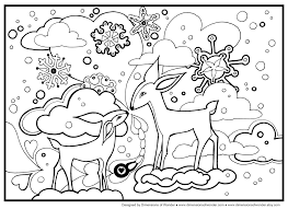 Small Picture Winter Coloring Pages Homeschool Library of Links