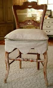 dining chair seat slipcover pattern. pretty scalloped slipcover for a dining chair seat pattern r