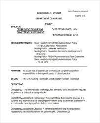 registered nurse skills list 34 nursing assessments examples samples