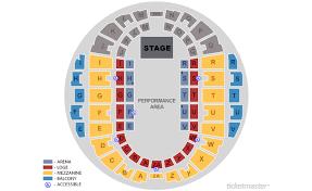 Hampton Coliseum Seating Chart Ice Show Elcho Table