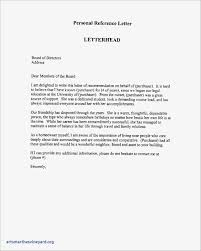 Letter Format Character Reference Best Sample Certificate Of Good