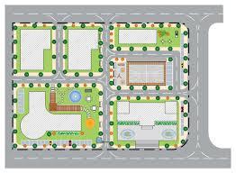 Garden Layout Template Neighborhood Landscape Design Free Neighborhood Landscape