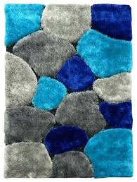 color block area rug abstract design contemporary texture and thresholdtm blended blocks multi