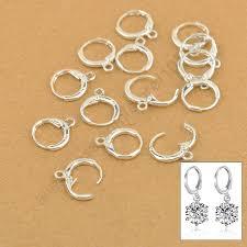 JEXXI Hoop Drop Earrings Jewelry Findings 20PCS(10Pair) <b>Real</b> ...
