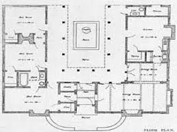 ued house plans with pool in middle australia courtyard u shaped inside