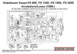 wiring loom piaggio vespa px efl elestart 1998 battery schaltplan 1580347 jpg