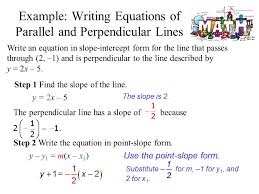 writing equations of parallel and perpendicular lines quizlet writing linear equations quizlet tessshlo