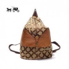 Quick View · Coach Backpacks in Monogram Medium Khaki Outlet Sale VIP Shop  ...