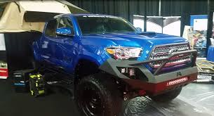 2017 Toyota Tacoma Double cab with 6 Procomp Lift kit at the ...