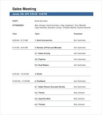 Printable Meeting Agenda Template Microsoft Word Free Mediaschool Info