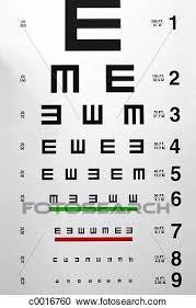 Chart Close Up Examination Eye Chart Eyecare Health