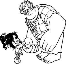 Small Picture Coloring Pages Boys Wreck It Ralph Come Here Coloring Page