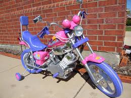 electric ride on custom chopper motorcycle for children