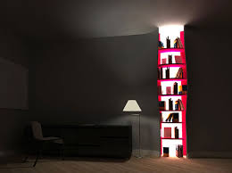 designer bookshelves modern shelving. This Unique Solution Lets You Find Your Favorite Book At Night Without Waking Up The Whole Family Designer Tembolat Gugkaev On Bookshelves Modern Shelving