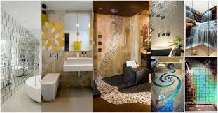 Unique Bathroom Tiles Wonderful Cool Bathroom Tiles That Will Grab Your Attention