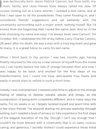 essay jase cannon her story