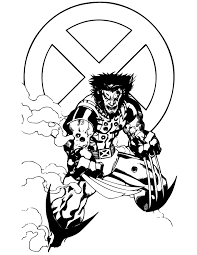 Small Picture Wolverine coloring pages angry ColoringStar