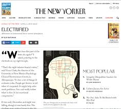 tdcs studies and articles tdcs devices apex type a 18v brain a new yorker magazine article about tdcs when the new yorker does it it stays done for those outsite the us this is one of the most iconic publication