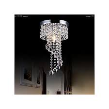 modern led galaxy spiral crystal chandelier lamp fixture lighting pendant decor 220v