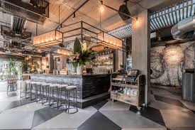 Industrial Style Bar From Budapest Industrial Chic