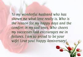 Anniversary Quotes For Him Simple Happy Anniversary To My Husband Quotes Anniversary Sayings For Him