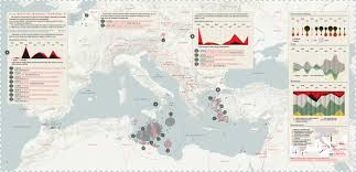 The Missing Migrants Map Corriere Della Sera On Behance