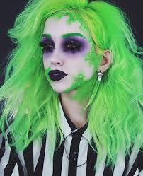 turn yourself into a bodacious beetlejuice with this beetlejuice makeup tutorial inspired by tim burtons film beetlejuice and don t miss ell