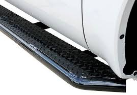 Go Industries Black Diamond Tread Steps Running Board With Full 6 ...