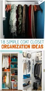 Image Pinterest One Crazy House 18 Coat Closet Organization Tricks For Busy Families