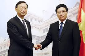 Image result for hình Phạm Bình Minh Với Dương Khiết Trì