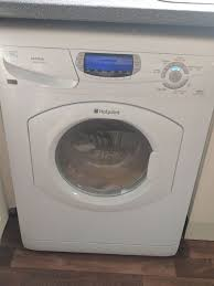 moving washer and dryer. Hotpoint WD860 Washer Dryer For Sale. Great Quality, Working - Selling As Moving House And S