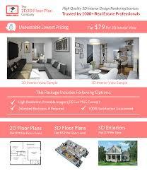 Space Designer 3d Cost 3d Interior Design Rendering Services The 2d3d Floor Plan