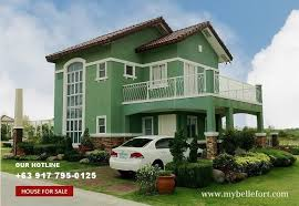 Small Picture Bellefort Estates Sabine House for Sale in Daang Hari Philippines