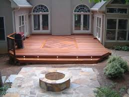 simple wood patio designs. Simple Deck Ideas Patio Wood Designs Low Elevation And Seating Pat Pinterest