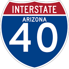 Interstate 40 in Arizona