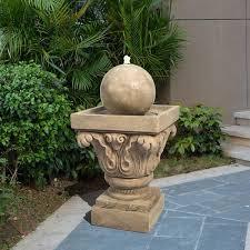 peaktop outdoor sphere water fountain