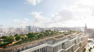 google london office. Google\u0027s Huge New London HQ Is A \u0027landscraper\u0027 With Rooftop Garden Google Office N