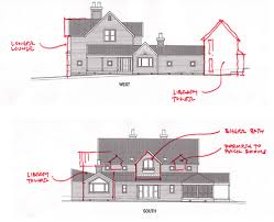 house plan alterations  side view    Top shows the main entr    Flickr