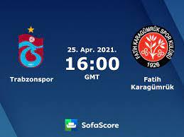Trabzonspor Fatih Karagümrük Live Ticker und Live Stream - SofaScore
