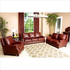 adalyn home leather sofa beautiful abbyson living bel air 3 piece leather sofa set in brown
