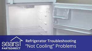 troubleshooting a refrigerator not cooling