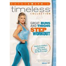 Kathy Smith: Great Buns & Thighs Step Workout (DVD) : Target