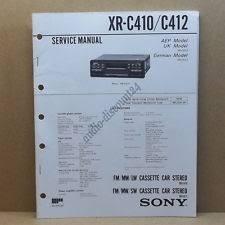sony xr in other in car technology sony xr c410 xr c412 service manual intern r1