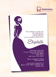 design templates for invitations free pdf download lady bride bridal shower invitation easy to