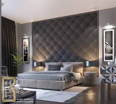 Charcoal Quilted Bedroom Feature Modern Accent Wall Ideas 44 Awesome For  Your