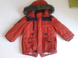 boys red winter coat 2 3 years