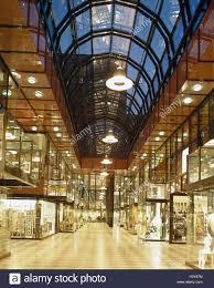 Deutschland, Hannover, Kauf Durchgang Luisen Galerie, Abend, Durchgang,  Einkauf, Shop, Beleuchtung, Lampen, Geschäfte, Schaufenster, Einkauf,  Durchgang, ...