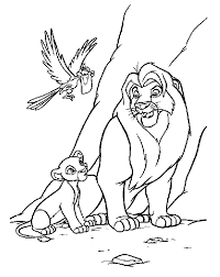 Small Picture Coloring Page The lion king coloring pages 52