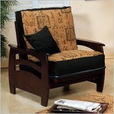 Discount Price  Elite Products Montego Junior Twin Walnut Futon Chair Frame
